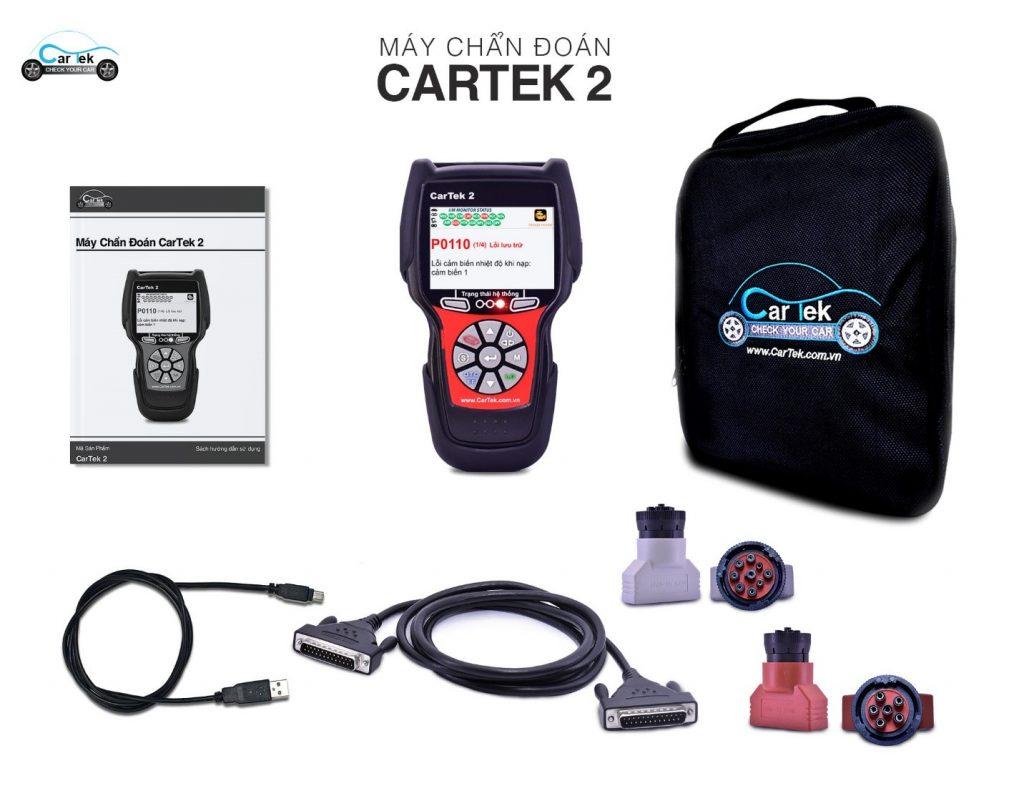 Máy chuẩn đoán lỗi ô tô Cartek 2