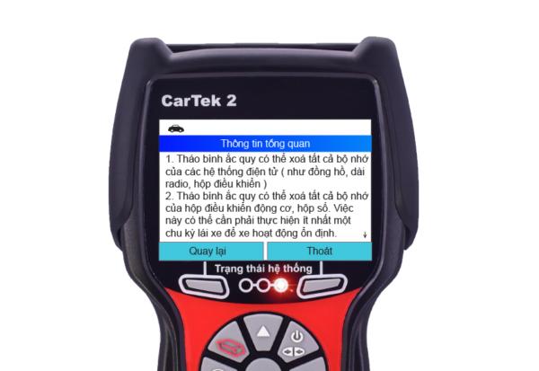 Thông tin tổng quan thể hiện các lưu ý trước khi thực hiện thay thế ắc quy