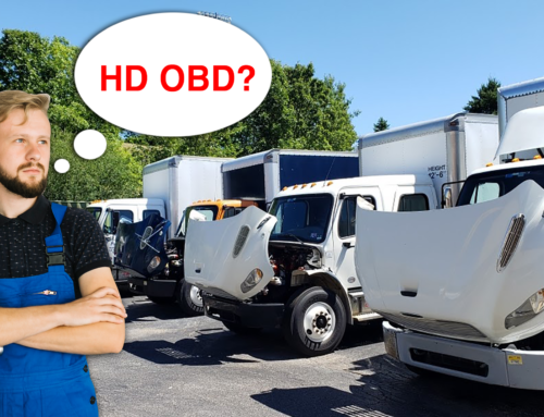 Tìm hiểu về chuẩn chẩn đoán xe tải nặng HD OBD