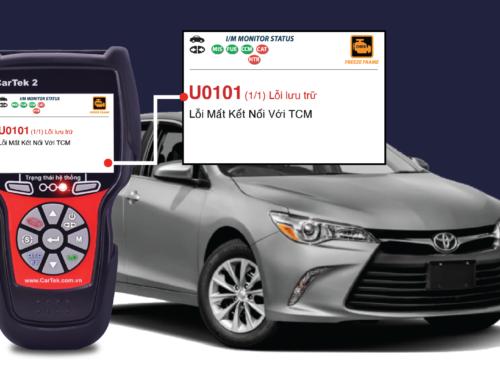 Hướng dẫn sửa chữa mã lỗi U0101 trên 2017 Toyota Camry 2GR-FE 3.5L