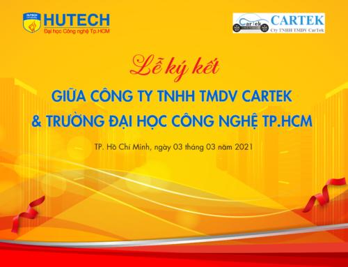 HUTECH ký kết hợp tác cùng Công ty CarTek, mở ra nhiều cơ hội học tập cho sinh viên