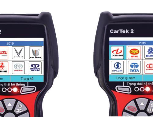 Chẩn đoán xe tải Trung Quốc bằng máy Cartek 2