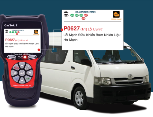 Hướng dẫn sửa chữa mã lỗi P0627 trên 2007 Toyota Hiace L4, 2.5L (2KD-FTV)