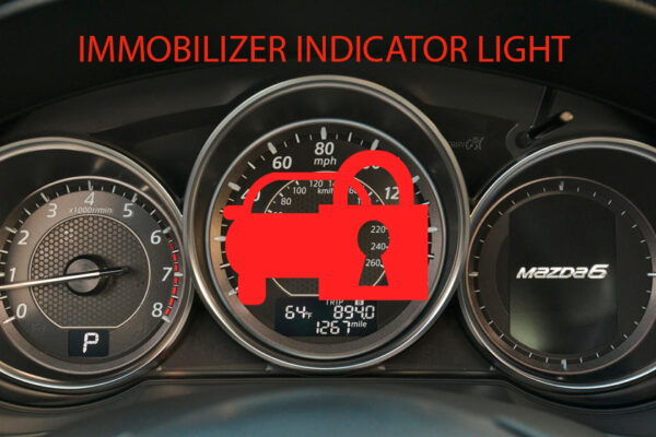 Bảng táp lô Mazda 6_Immobilizer Indicator Light